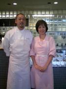 脇雅世先生とカフェ『パルティシオン』シェフ