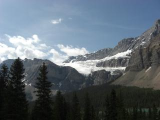 クロウフット氷河