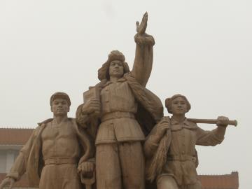 北京にて 天安門広場