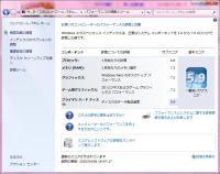 Windowsエクスペリエンスインデックスの評価