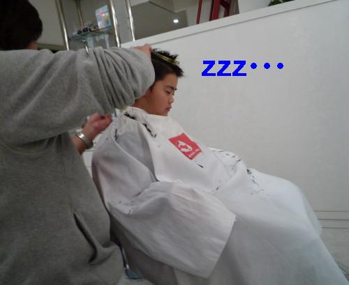 寝てる・・・_1