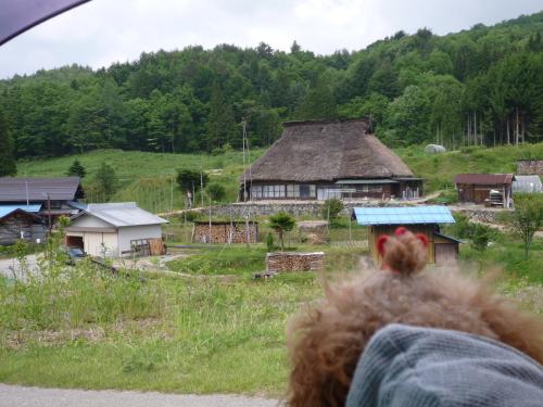 山之村の景色