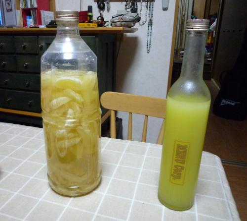 リモンチェッロ&焼酎_1