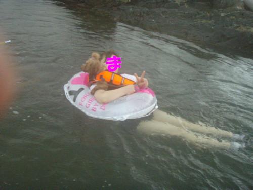12 ママメル水遊び