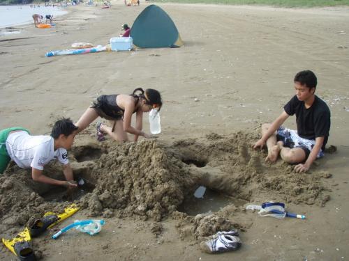 13 砂遊び