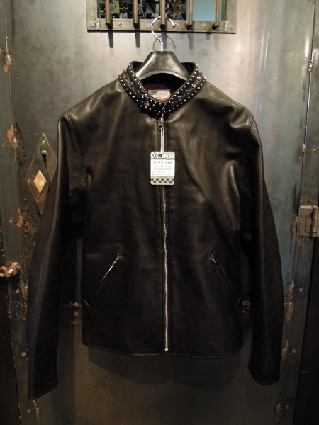 O.C STYLE Studs Single Leather JKT