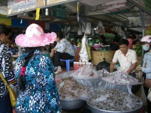 セントラルマーケット 鮮魚売り場
