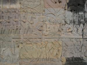 Angkor Tom & Bayon 壁画