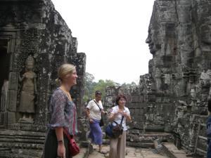 Angkor Tom & Bayon 写真スポットその一