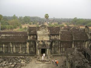 Angkor Wat 高いところから