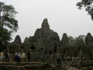 Angkor Tom & Bayon 南大門のあたりから