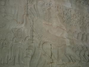 Angkor Wat 乳海攪拌図