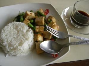 Chang House バジルと豆腐のチリ炒め