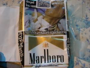 タイのたばこ