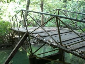 エラワン 途中にある橋