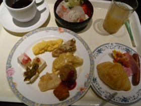 古牧温泉青森屋の朝食2