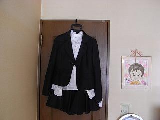 2号♀のスーツ