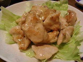 チキンの味噌マヨ