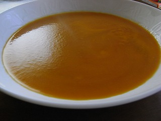 金時にんじんのスープ