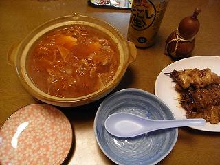 11月24日 チゲ鍋