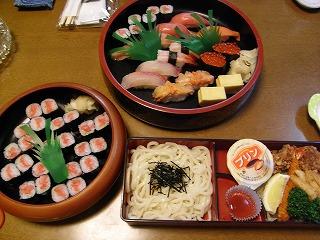 11月30日 お寿司(出前)