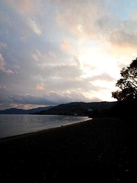 洞爺湖夕焼け