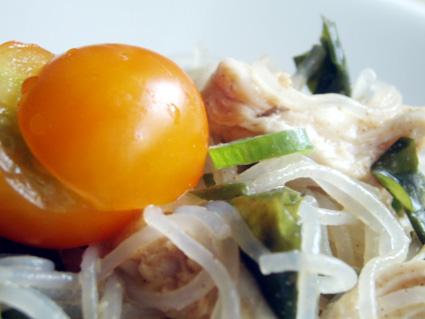 塩鶏の春雨サラダ03