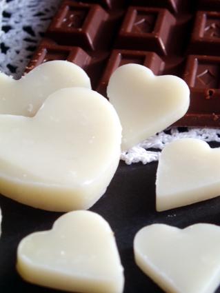 バレンタインのチョコ石鹸02