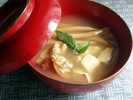 金針菜のすまし汁01