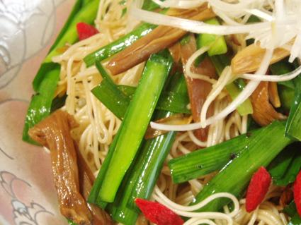 金針菜の素麺チャンプルー02
