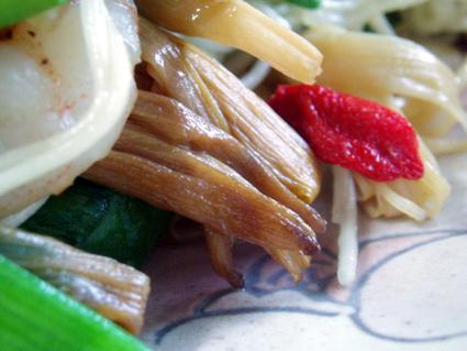 金針菜の素麺チャンプルー03