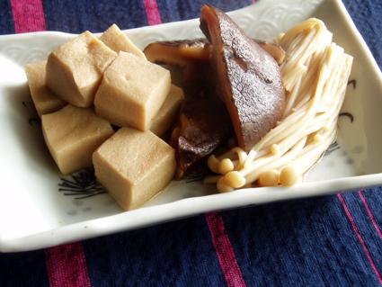 高野豆腐の煮つけ01
