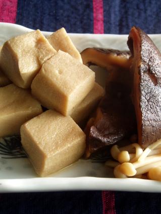 高野豆腐の煮つけ03