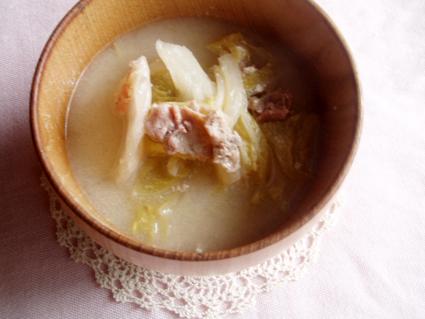 白菜のとろとろ豆乳煮03
