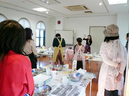 宝塚手作り石鹸教室