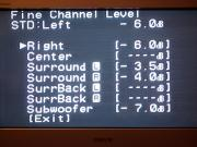 調整後「Channel Level」