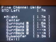 調整後「Channel Delay」