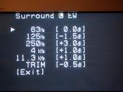 調整後「Surround L」