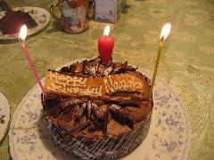 15誕生日ケーキ