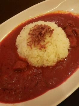 ペレの赤カレー
