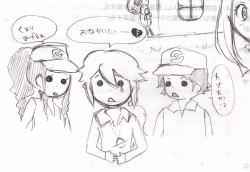 2011.03.03 テストにらくがき⑤ポケモンBW