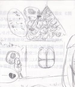 2011.03.03 テストにらくがき④キノピオ