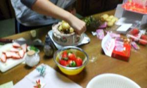 クリスマスケーキ'08-1