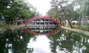 住吉大社太鼓橋