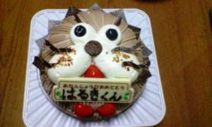 はるき8歳誕生日ケーキ
