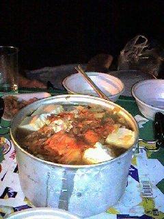 これでもキムチ鍋です
