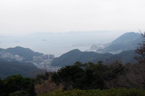 稲佐山からの景色