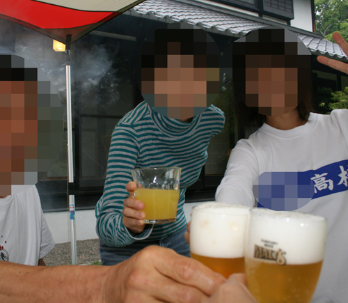 2009-0523誕生会乾杯