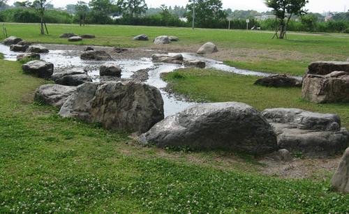 江津湖 水遊び場