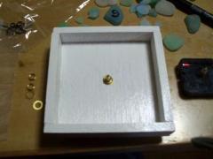 海ガラスの時計002